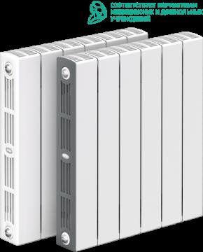 RIFAR SUPReMO VENTIL 500 SVR 12 секций радиатор биметаллический нижнее правое подключение (белый RAL 9016)