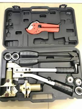 PEXeasy Универсальный комплект механического инструмента (5 насадок: 16, 20, 25 для PEX, 16, 20 для стабильной трубы)