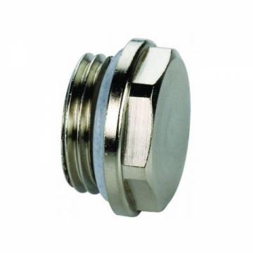 """Заглушка, с уплотнительным кольцом, никелированная латунь, 3/4"""" (Rifar)"""