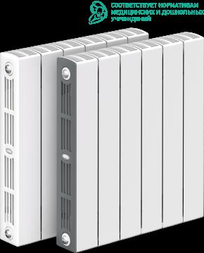RIFAR SUPReMO VENTIL 500 SVR 10 секций радиатор биметаллический нижнее правое подключение (белый RAL 9016)