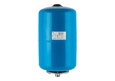 Гидроаккумулятор со сменной мембраной 24 л, вертик., 1, синий (Stout - Россия)