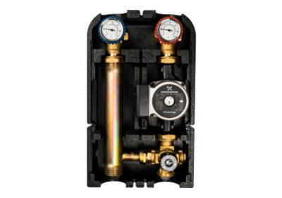 Насосная группа с термостатическим смесительным клапаном 1 без насоса (Stout - Италия)