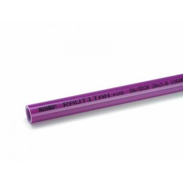 Отоп. труба RAUTITAN pink 25х3,5 мм, бухта 50 м (Rehau - Германия)