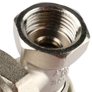 Клапан ручной терморегулирующий, угловой 1/2 (Stout - Италия)