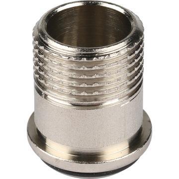 Клапан запорно-балансировочный, угловой 1/2 (Stout - Италия)