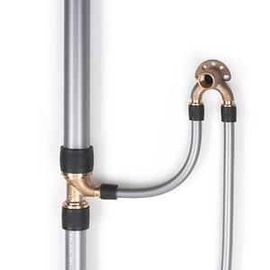 Универсальн.труба RAUTITAN stabil 20х2,9 мм, бухта 100 м (Rehau - Германия)