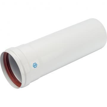 STOUT Элемент дымохода 80 труба 250 мм п/м (групповая упаковка 10 шт) лого (Stout - Италия)